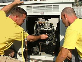 Generator Serving Hunter & Lomison