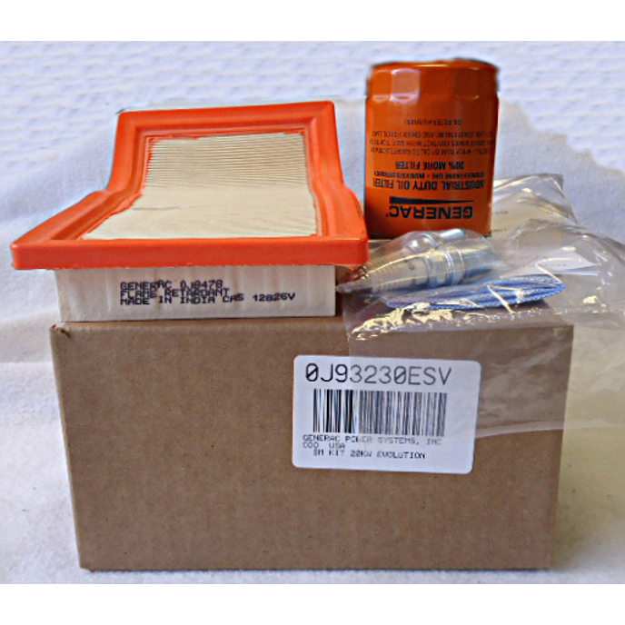 Generac Scheduled Maintenance Kit 0J93230ESV
